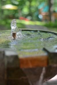 The fountain in our Patton Sanctuaery